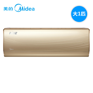 美的(Midea) 大1匹全直流变频空调挂机 一级能效 家用壁挂式空调 舒适星 炫沙金 KFR-26GW/BP3DN8Y-TA100(B1)